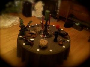 Solstice Altar